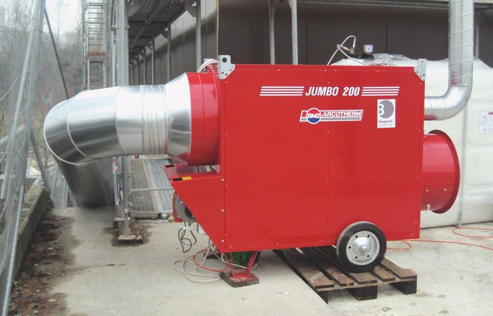 Chaudière à mazout 200 kW