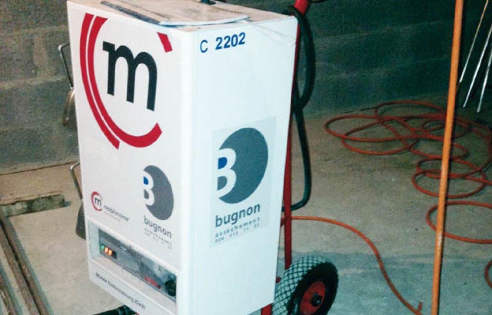 Installation de secours électrique de 22 kW pour raccordement de chauffage au sol