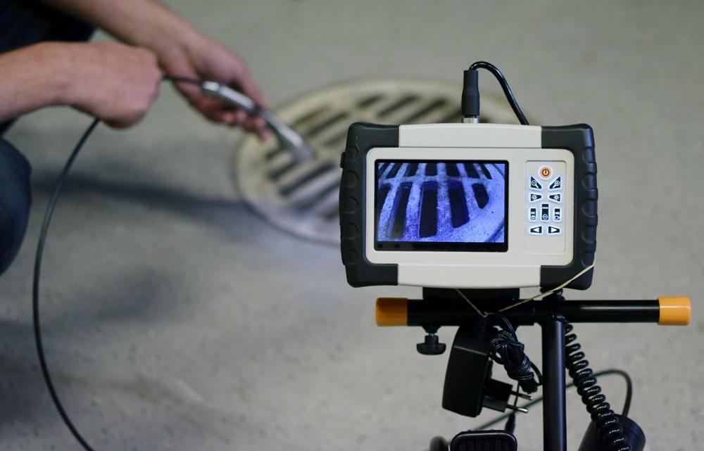 Caméra d'inspection des canalisations